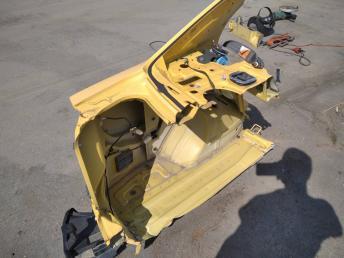 Крыло заднее левое Chevrolet Aveo T250