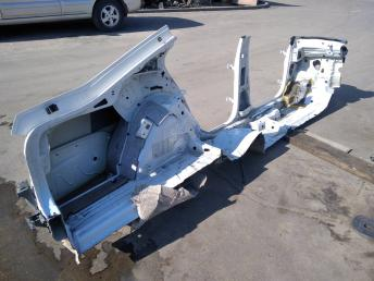 Кузов (левая часть) Skoda Octavia A7