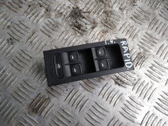 Блок управления стеклами Skoda Rapid 5JB959857