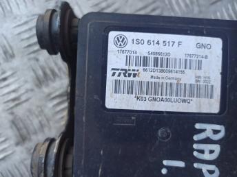 Блок ABS (насос) Skoda Rapid 1S0614517F