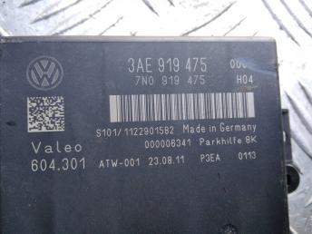 Блок управления парктрониками VW Passat B7 / CC 3AE919475