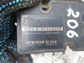 Блок ABS Peugeot 206