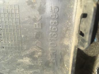Молдинг заднего бампера правый Renault Symbol 8200136895