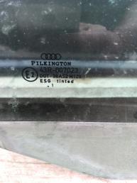 Стекло двери передней правой на Ауди А4 Б5 8D0845202