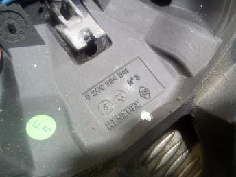 Руль Renault Laguna 2 8200284541