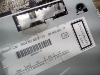 Магнитола Citroen C5 2 6574NW