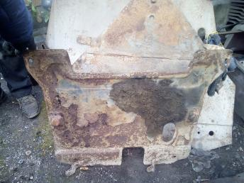 Защита двигателя Daewoo Matiz