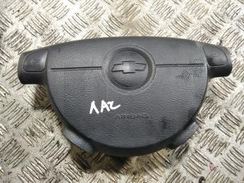 Подушка безопасности в руль Chevrolet Lacetti 96474818