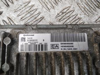 Блок управления двигателем Citroen C4
