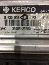 Блок управления двигателем (ЭБУ) Hyundai Matrix 3910826600
