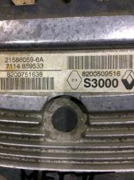 Блок управления двигателем Renault Megane 2 8200509516