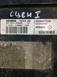Блок управления двигателем Renault Scenic 8200057536
