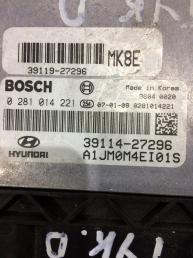 Блок управления двигателем (ЭБУ) Hyundai Tucson 0281014221