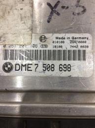 Блок управления двигателем (ЭБУ) BMW X5 E53 4.4 DME7508698