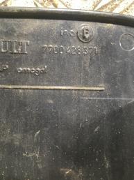 Лючок бензобака Renault Scenic1 1999-2003 7700307150