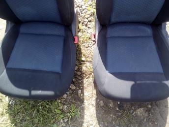 Сиденья передние на Поло 5
