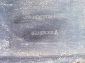 Защита антигравийная левая на Поло 5 6RU825201A