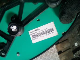 Панель приборов Partner/Berlingo 6105V3