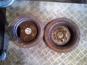 Диск тормозной задний Toyota Ipsum 4351263010