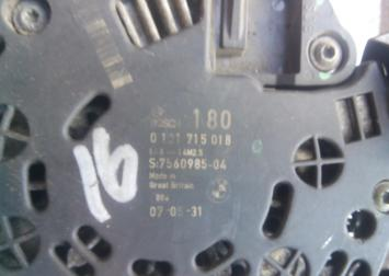 Генератор BMW X5 E53 3.0 0121715018
