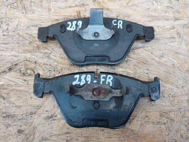 Колодки тормозные BMW E60/E61 перед.к-т 34116794916
