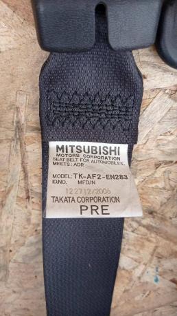 Ремень безопасности Mitsubishi Pajero 4 пер. Чёрн. 7000A464XA/7000A463XA