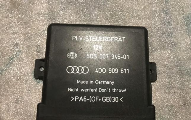 Блок управления рулевой колонкой Audi A8 4D0909611