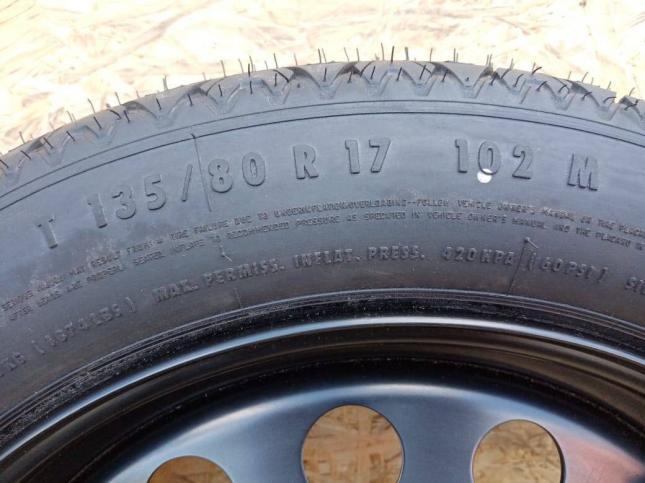 Колесо Докатка BMW E60 125/80/R17