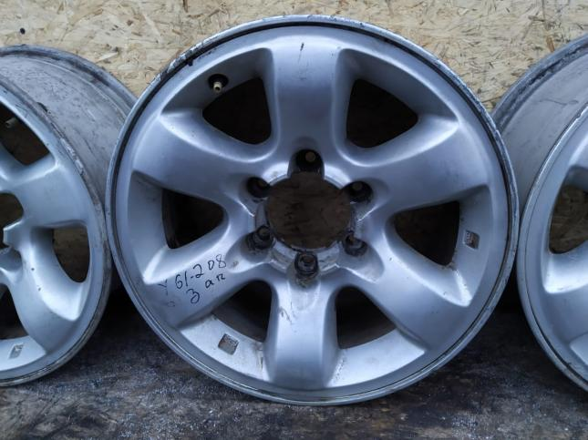Диск колесный Nissan Patrol Y61 7x16 6х139.7 ET13