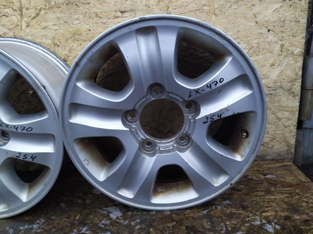 Диск колесный Toyota Land Cruiser 100 R17 оригинал 254
