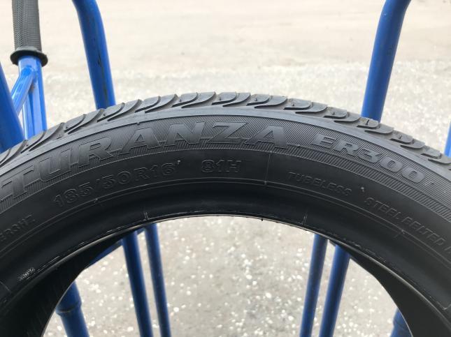 185 50 R16  Bridgestone бу летние шины 185 50 16