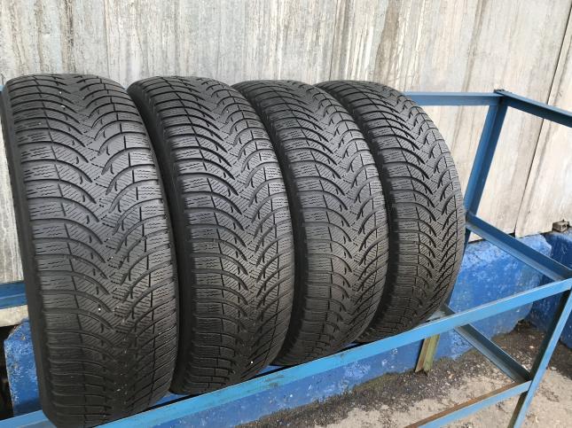 Зимние шины 195 55 16 Michelin Alpin 4