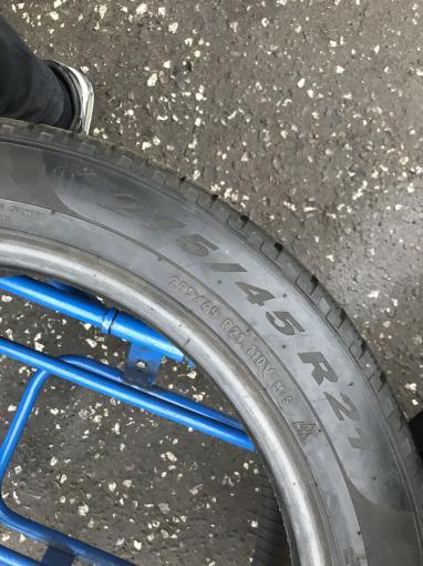 Спарка на GLA 275/45 R21 и 315/40 Pirelli Scorpion Winter