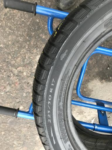 225 50 17 Michelin бу зимние шины 225 50 R17