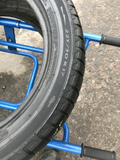 225 50 17 Michelin бу зимняя шина 225 50 R17
