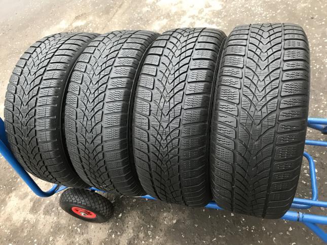 225 50 17 Dunlop runflat бу зимние шины 225 50 R17