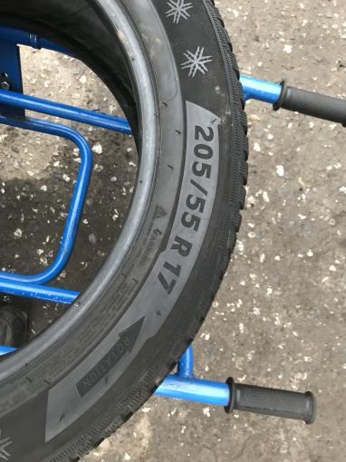 205 55 17 Michelin бу зимние шины 205 55 R17