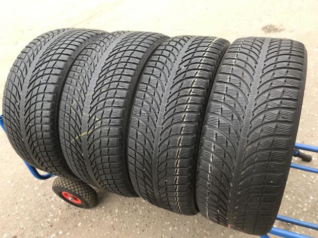 Шины бу 265 40 21 и 295 35 R21 Michelin Pilot Alpin