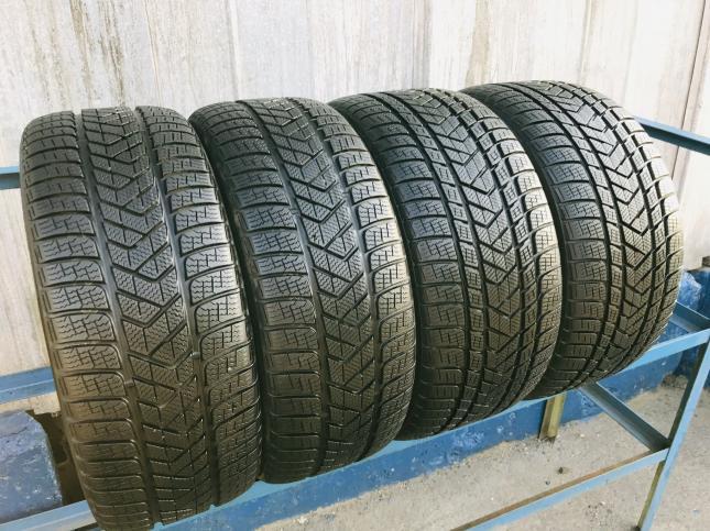 Шины бу 265 45 20 и 295 40 R20 Pirelli на Porsche