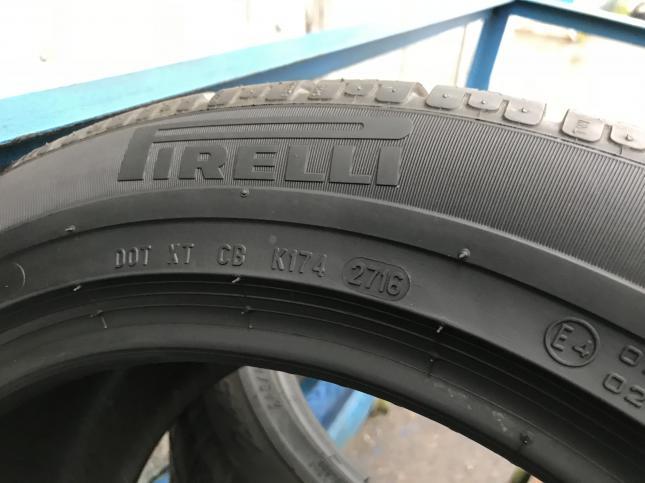 Шины б/у 255/40 R18 и 285/35/18 Pirelli Sottozero 2