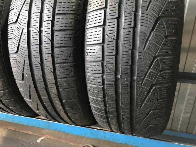 Спарка на E class 225 45 18 и 245/40/18 Pirelli
