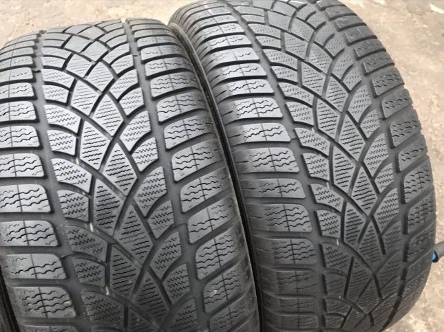 Разноширокие 235 35 19 и 295 30 R19 Dunlop на Porsche