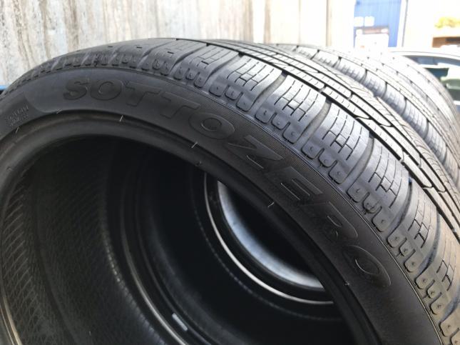 Разноширокие 235 35 19 и 295 30 R19 Pirelli на Porsche