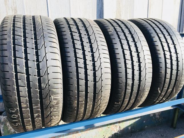 Разноширокие 255 40 18 и 285/35 R18 Pirelli на CLS