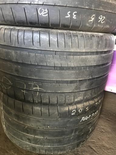 Разноширокие 265/35/20 и 295/30 Michelin Super sport