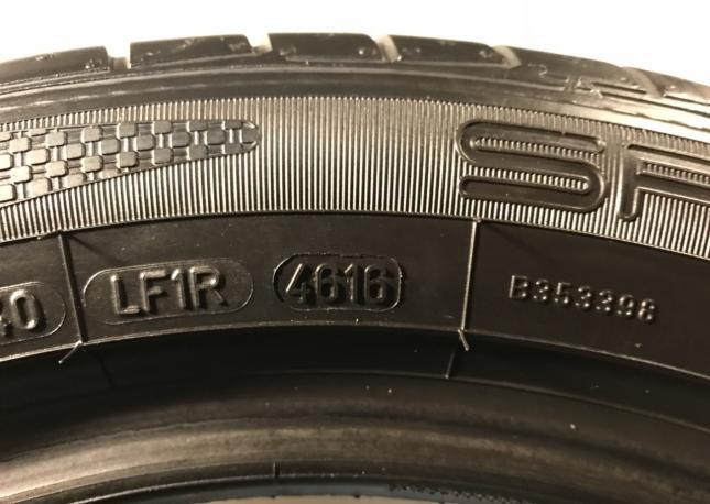 225 50 17 Данлоп Sport maxx TT Runflat