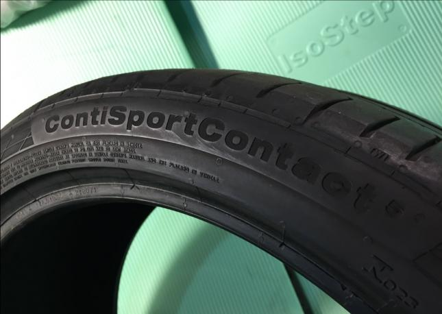 225/40R18 Continental conti sport contact 5 пара