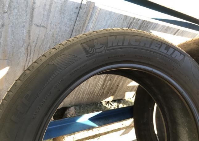 215 55 17 Michelin primasy hp 4шт