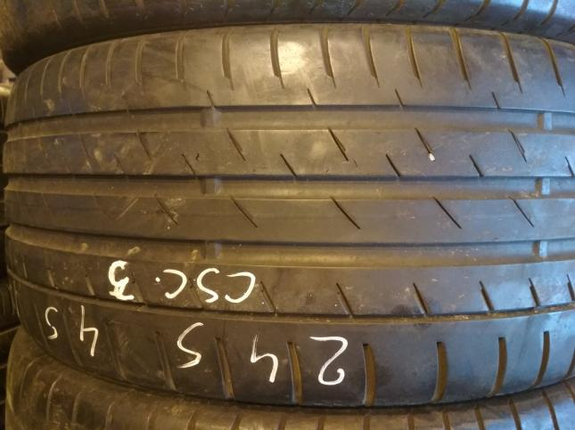 245 45 17 Continental ContiSportContact 3 (5mm)