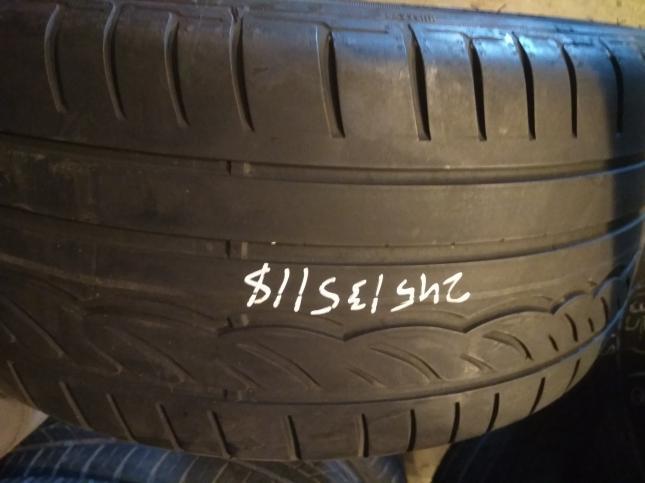 245 35 18 Dunlop SP Sport 01 (RFT) (5mm)